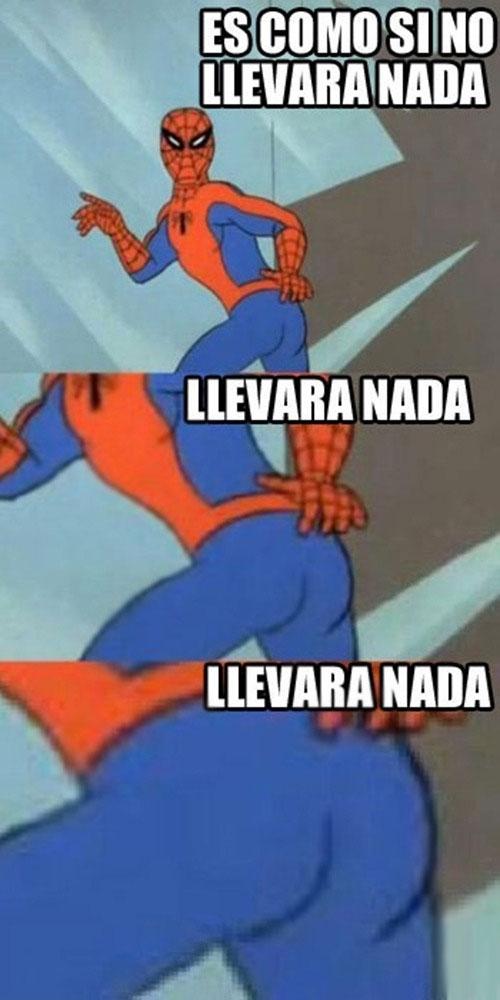 flanders,mallas,no llevara nada,spiderman