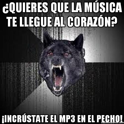 Lobo_demente - Música que te llegue al corazón