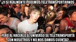 Enlace a La paranoia del teletransporte