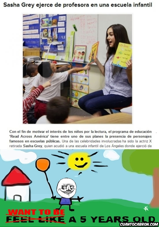 Otros - La profesora de educación infantil de mis sueños