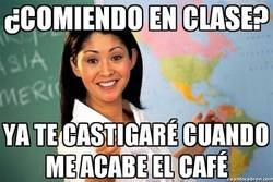 Enlace a ¿Comiendo en clase?