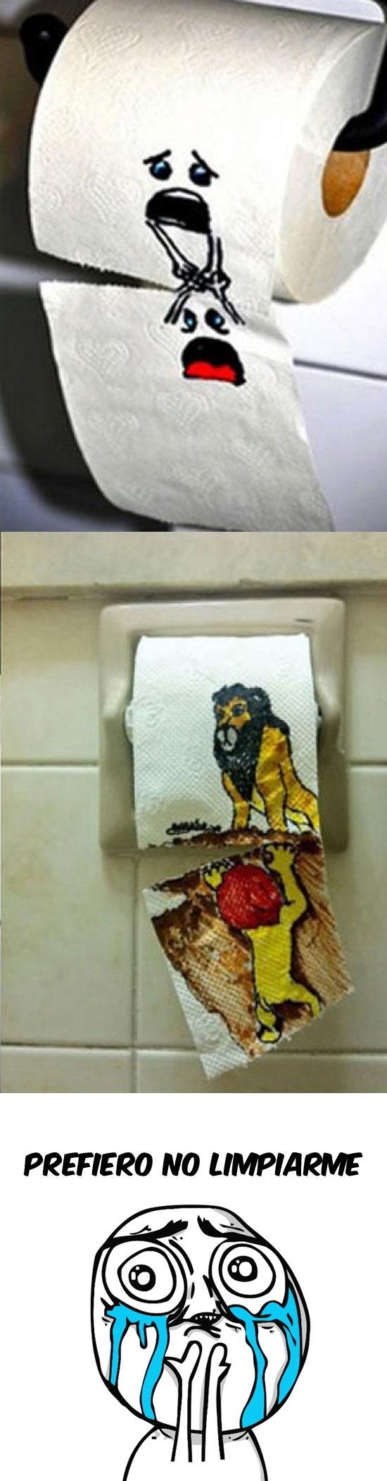 Otros - Estúpido y emocional papel higiénico...