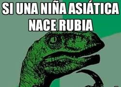 Enlace a ¿Asiáticas rubias?