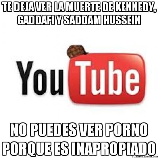 Meme_otros - La doble moral de Youtube