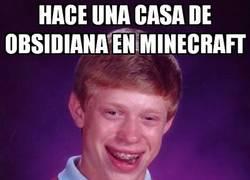 Enlace a Ni siquiera en Minecraft tiene suerte