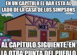 Enlace a La posición de la taberna de Moe es fluctuante