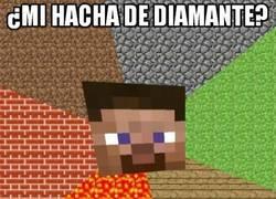 Enlace a ¿Mi hacha de diamante?