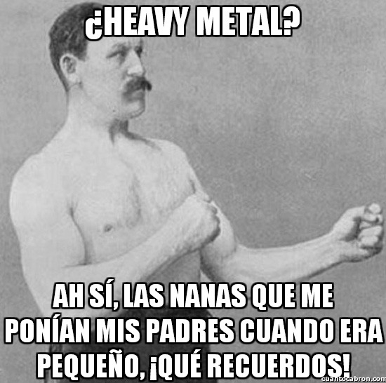 cancion de cuna,dormir,heavy metal,nana,padres