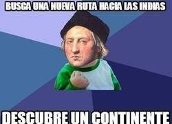 Enlace a Bad Luck Cristóbal Colón