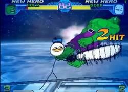 Enlace a Los memes llevados a un videojuego de lucha, épico