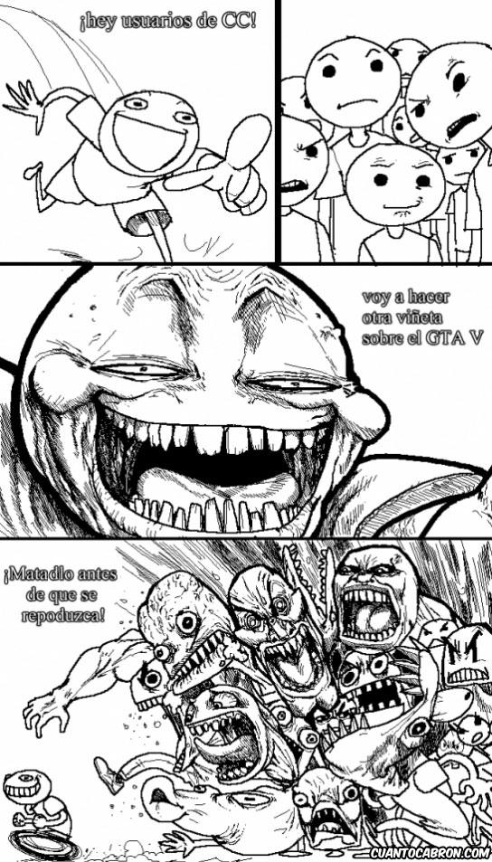 Otros - ¿Otra viñeta sobre el GTA V? Eso es imposible