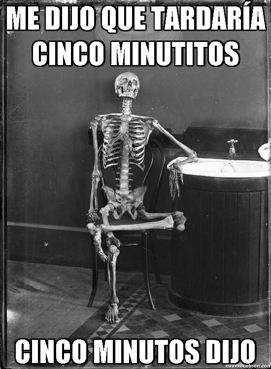 Meme_otros - Cinco minutitos...