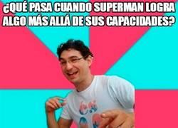 Enlace a Superman consiguiendo cosas