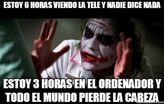 Joker - Creo que el problema lo tiene la gente con la tele
