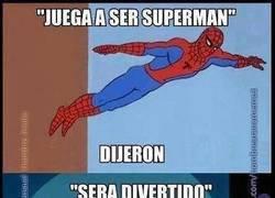 Enlace a Juega a ser Superman