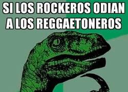 Enlace a El odio de los rockeros