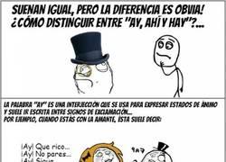 Enlace a POST EDUCATIVO: Diferencias entre Ay, Ahí y Hay