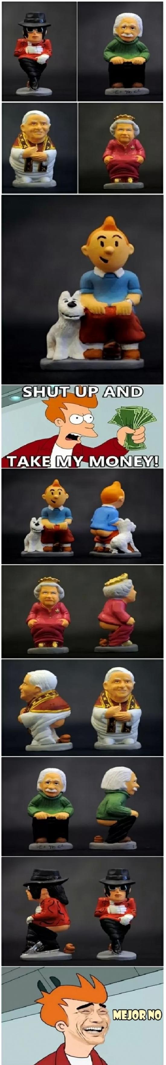 Fry - ¡Shut up and take my... No espera, mejor no...