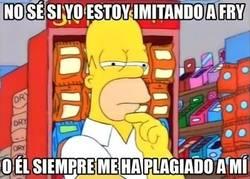 Enlace a ¿Homer o Fry?