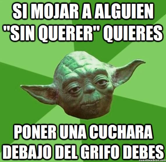 Consejos_yoda_da - Yoda también tiene su lado troll