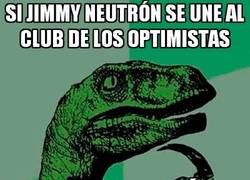 Enlace a Jimmy Neutrón, el optimista