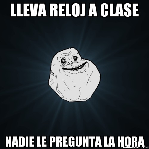 Meme_forever_alone - Buen intento, Forever Alone