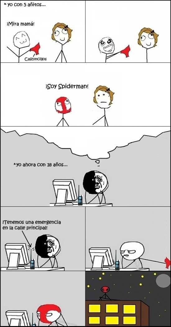 Oh_god_why - Siempre voy a ser Spiderman