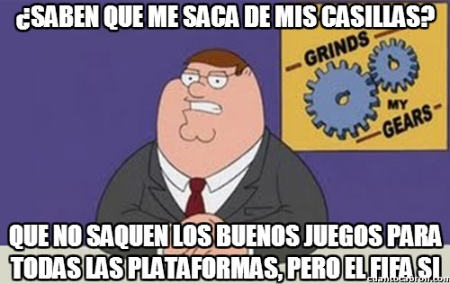 Peter_griffin - ¡Multiplataforma obligatorio, por favor!
