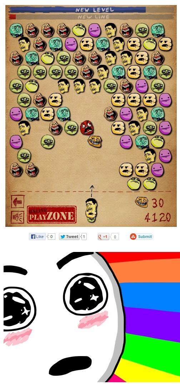 Amazed - Shoo Trollin, el memejuego