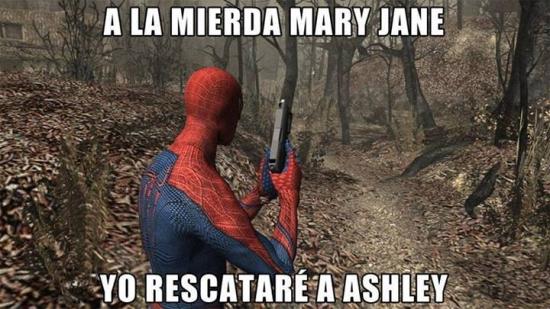 Meme_otros - Spiderman ha cambiado sus prioridades