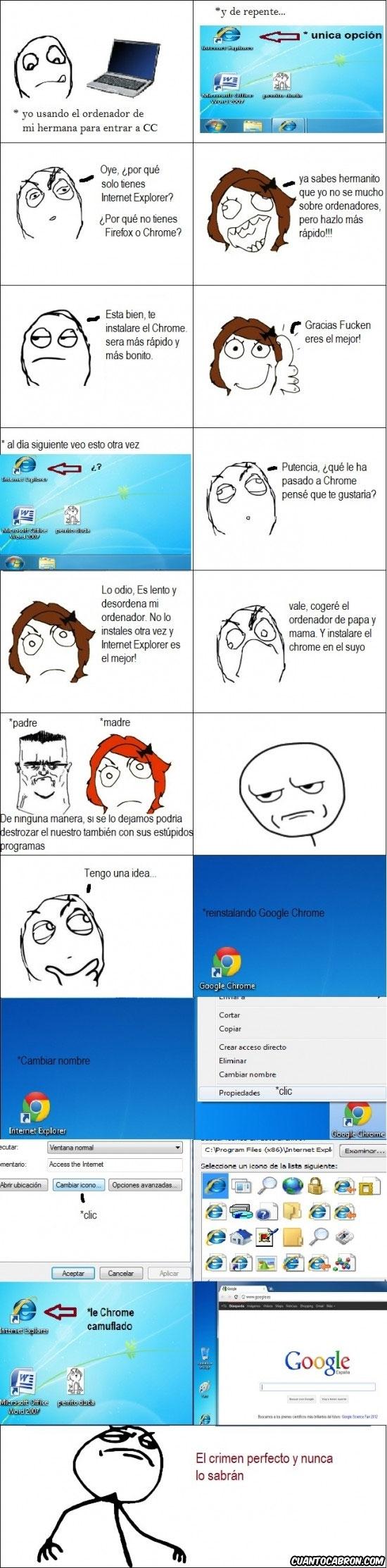 cambiar icono,cambiar nombre,Chrome,Firefox,Fuck Yea,IE,navegador