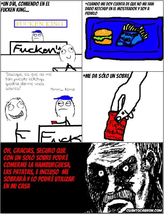 Mirada_fija - Racanería extrema en el burger