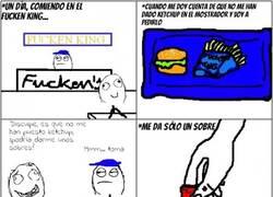Enlace a Racanería extrema en el burger
