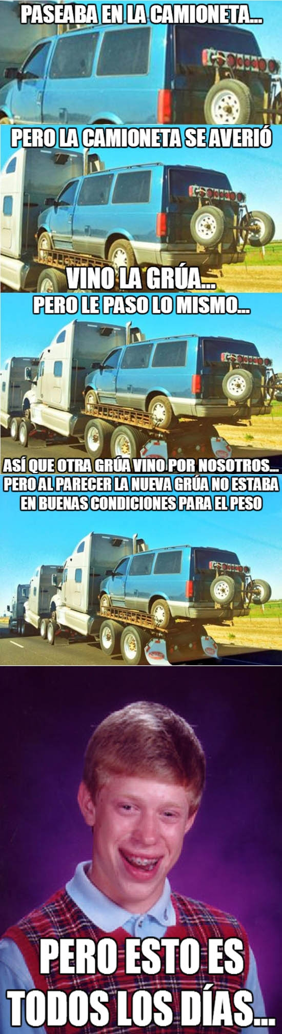 Bad_luck_brian - Paseo en camioneta