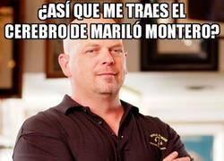 Enlace a ¿Me traes el cerebro de Mariló Montero?