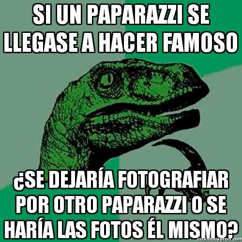Philosoraptor - Paradojas paparazzis
