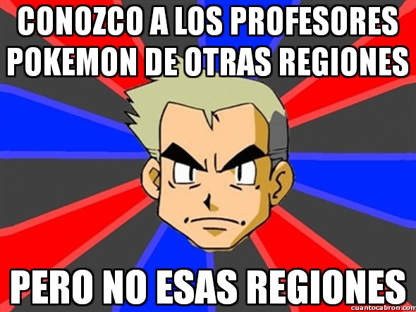 Profesor_oak - Regiones que no conozco
