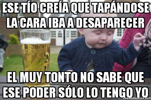 Bebe_borracho - El bebé con el poder de desaparecer