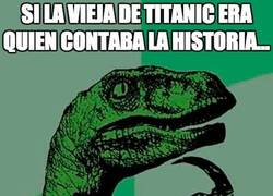Enlace a La vieja del Titanic
