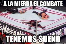 Enlace a Cosas inexplicables en la WWE