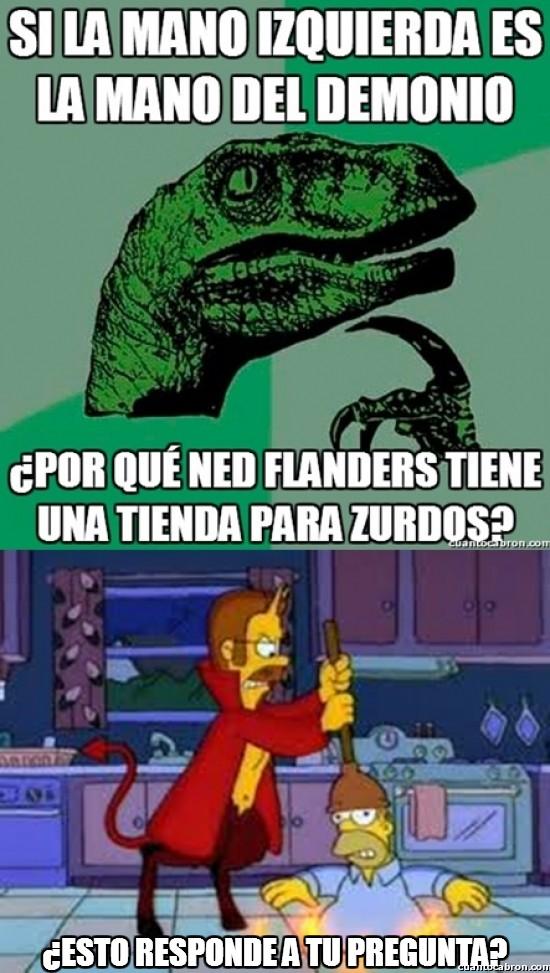 Philosoraptor - Flanders y su secreto