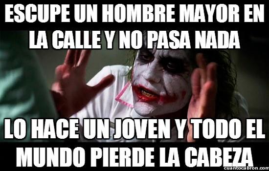 Joker - La falta de modales de los jóvenes