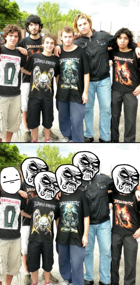 Infinito_desprecio - Megadeth y Metallica no van de la mano