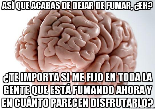 Cerebro_troll - Nada da más margen troll al cerebro que dejar de fumar