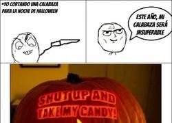 Enlace a La calabaza de Halloween de un friki