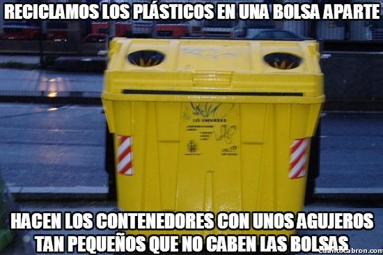 Meme_otros - El drama del contenedor amarillo