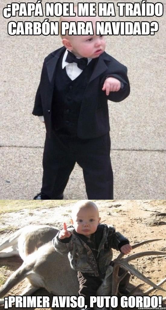Bebe_mafioso - Mejor no hagas enfadar al bebé mafioso