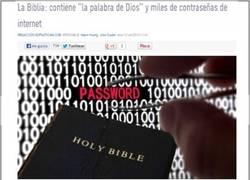 Enlace a La biblia y las contraseñas