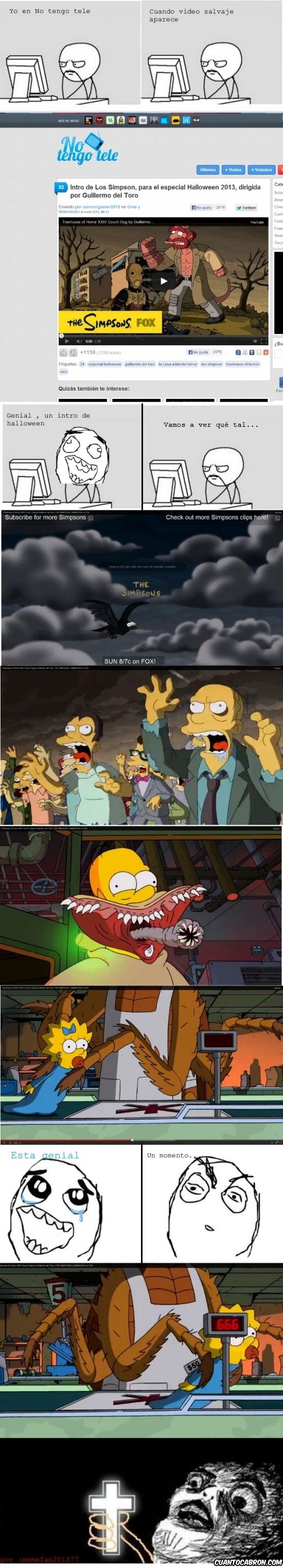 Inglip - Intro de halloween de los Simpson