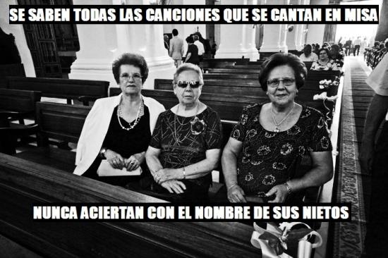 Meme_otros - Abuelas beatas